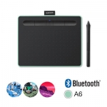 Графический планшет Wacom Intuos Small Bluetooth (CTL-4100WLE-N), (Зелёный)