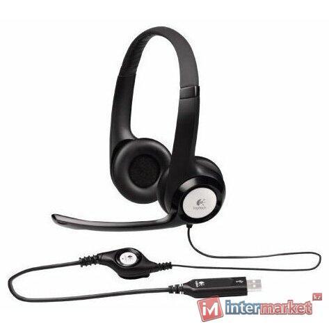 Компьютерная гарнитура  L981-000406 LOGITECH Corded USB Headset H390 - EMEA
