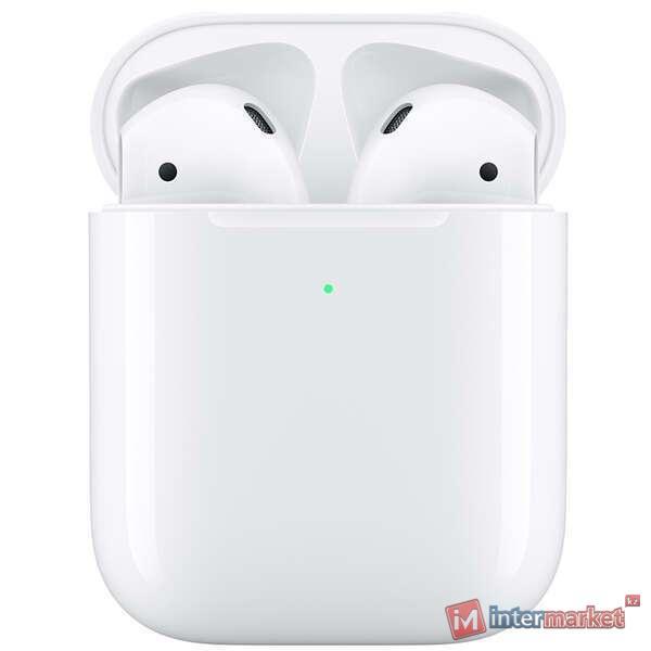 Наушники гарнитура Apple Airpods (MRXJ2) wireless charger