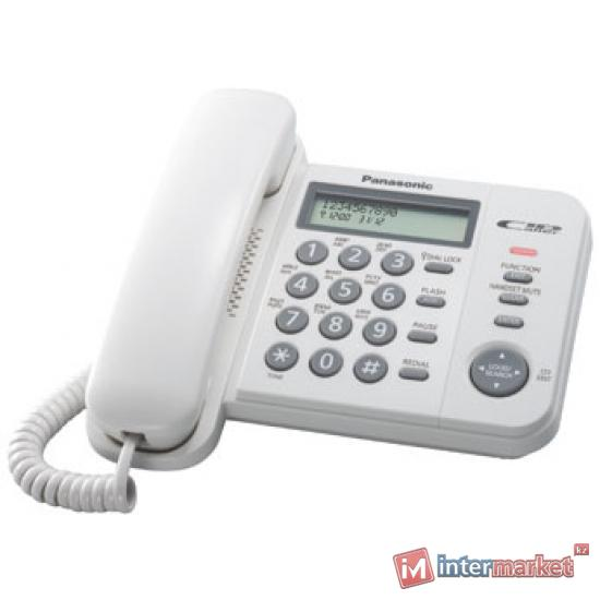 Телефон Panasonic KX-TS2356CAW