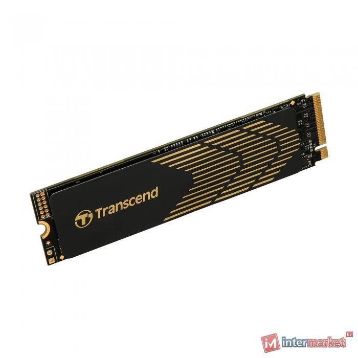 Жесткий диск SSD 500GB Transcend TS500GMTE240S M2 PCIe